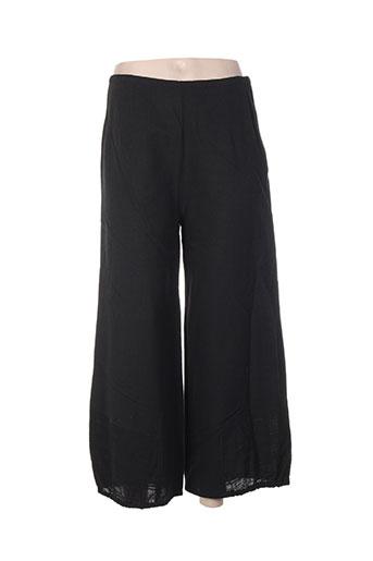 malia b pantalons femme de couleur noir