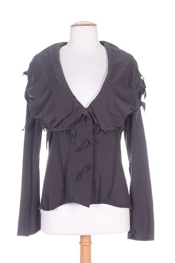 Veste casual gris BORIS INDUSTRIES pour femme