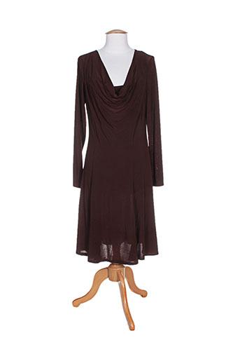 solola robes femme de couleur marron