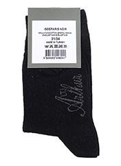 Chaussettes noir ARTHUR pour garçon seconde vue