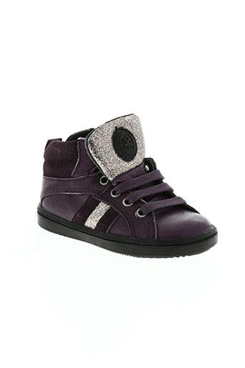 acebos chaussures fille de couleur violet