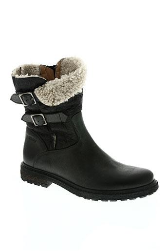 bi key chaussures femme de couleur noir