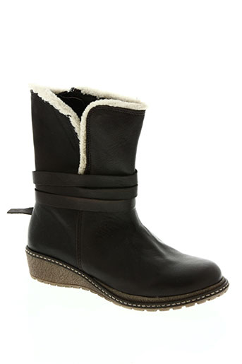acebos chaussures fille de couleur marron
