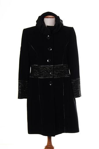 griffon manteaux femme de couleur noir