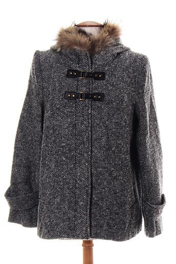 lulu manteaux femme de couleur noir