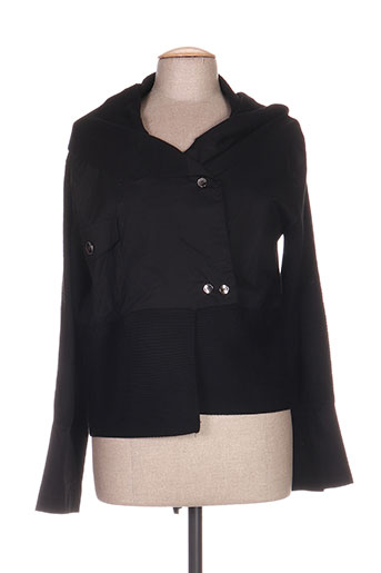 tagore vestes femme de couleur noir