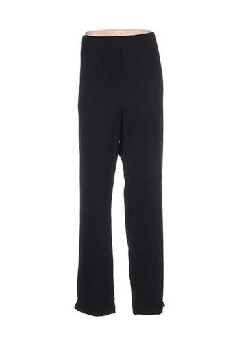 niederberger pantalons femme de couleur noir