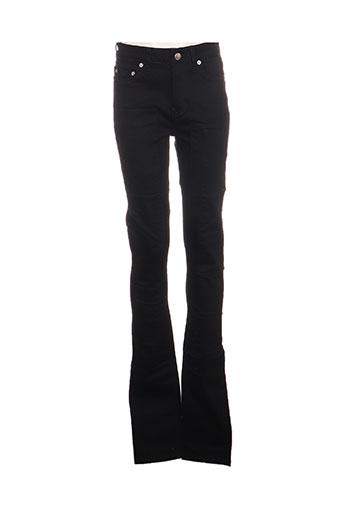 Jeans coupe slim noir BLK DNM pour femme