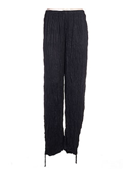 Pantalon casual noir BE THE QUEEN pour femme
