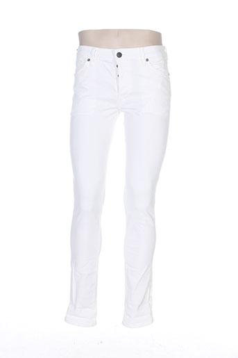 jack EFFI_CHAR_1 jones pantalons homme de couleur blanc