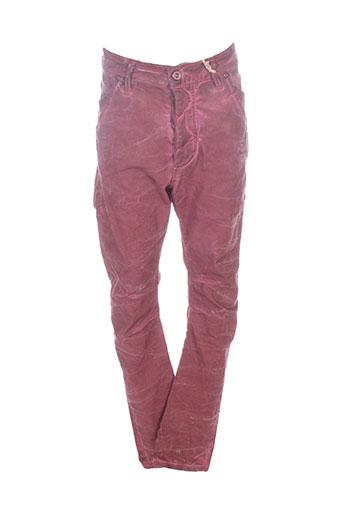 please pantalons garçon de couleur rouge