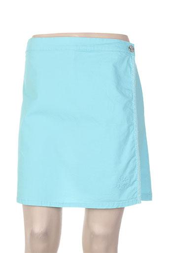 thalassa shorts / bermudas femme de couleur bleu