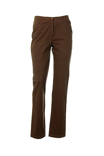 sym jeans femme de couleur marron
