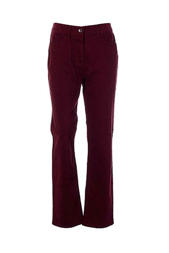 rouge EFFI_CHAR_1 bleu jeans femme de couleur rouge