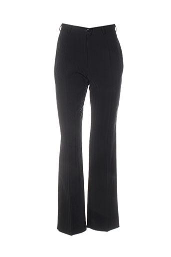 sym pantalons femme de couleur noir