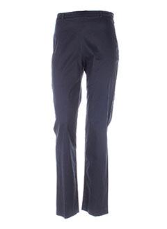 Pantalon casual bleu ANTONELLE pour femme