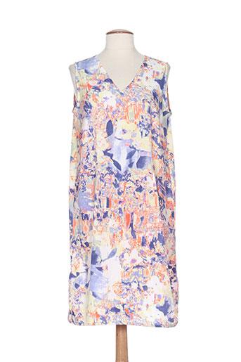 thalassa robes femme de couleur bleu