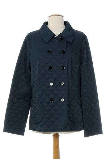 havrey manteaux femme de couleur bleu