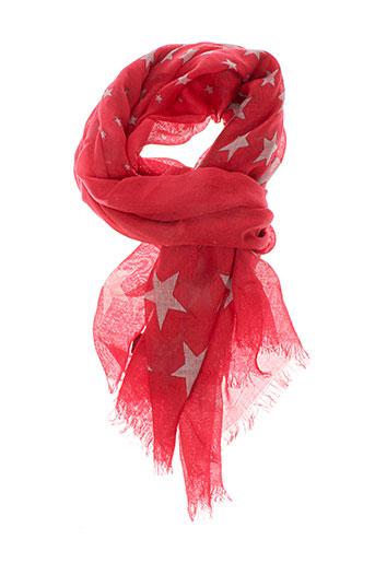 caroll accessoires femme de couleur rouge