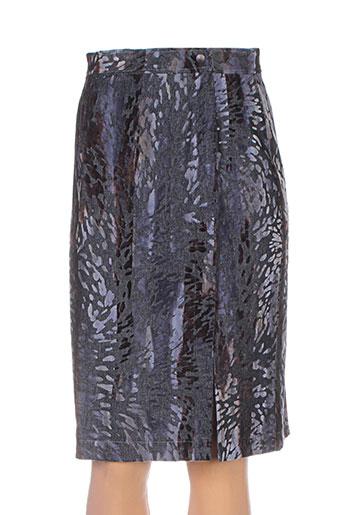 lucchini jupes femme de couleur noir