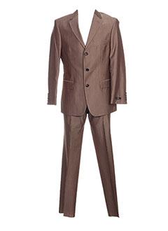Costume de cérémonie marron HUGO BOSS pour homme