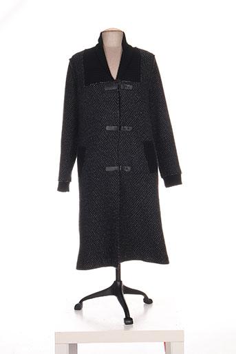 kokomarina manteaux femme de couleur noir