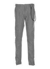 Pantalon casual gris JACK & JONES pour homme seconde vue