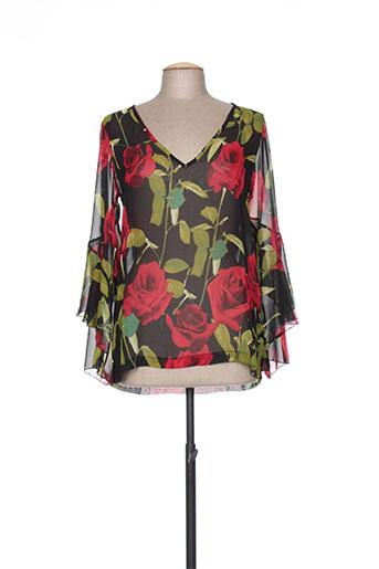 jeff gallano chemises femme de couleur noir