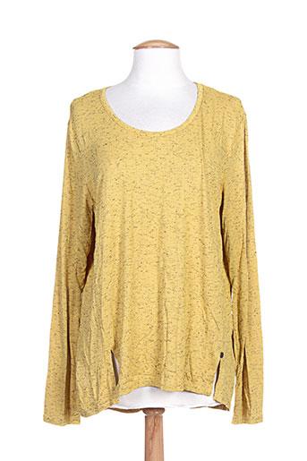 mado et les autres t-shirts femme de couleur jaune