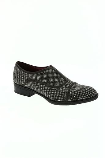 cafe noir chaussures femme de couleur gris