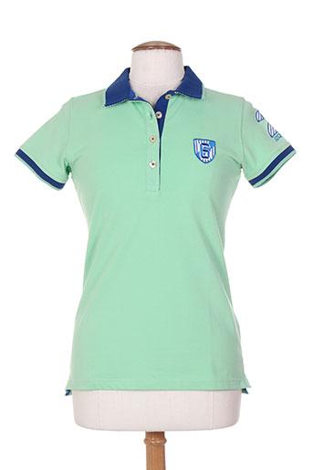 jezequel t-shirts femme de couleur vert