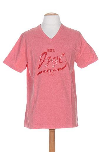 jezequel t-shirts homme de couleur rouge