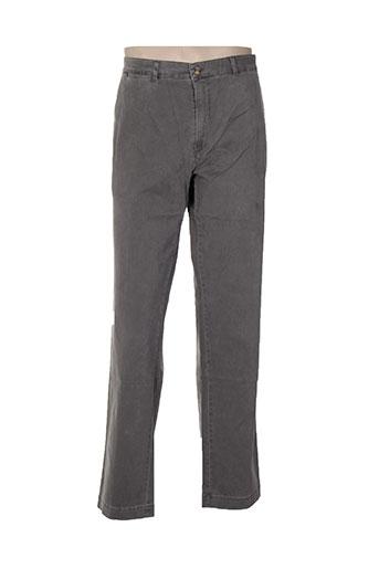 jezequel pantalons homme de couleur gris