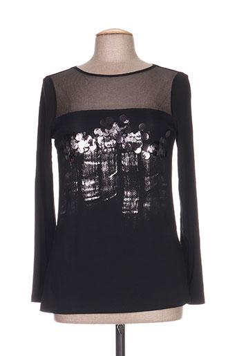 eleonora amadei chemises femme de couleur noir