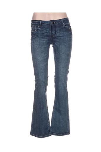 golden days jeans femme de couleur bleu