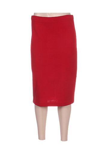 linda maglieria jupes femme de couleur rouge