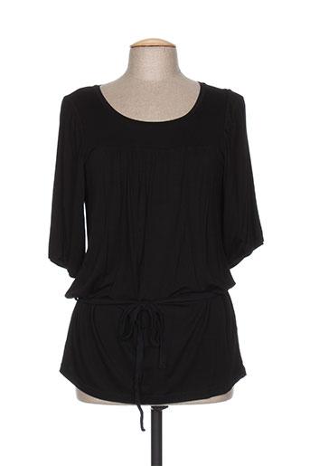 capuccina tuniques femme de couleur noir