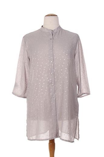 epicea chemises femme de couleur gris