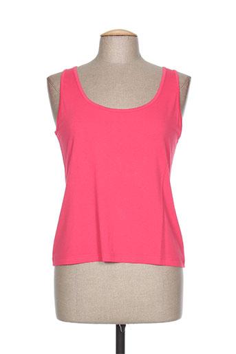 jean gabriel t-shirts femme de couleur rose