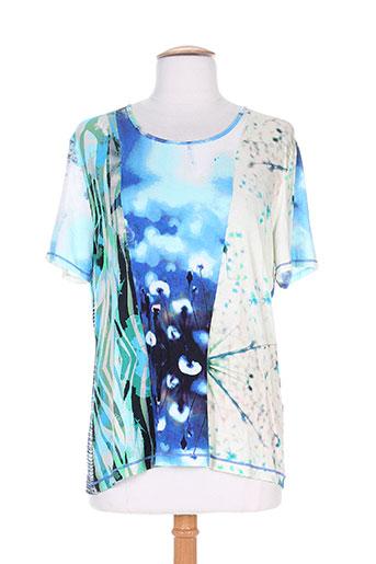 saint charles t-shirts femme de couleur bleu