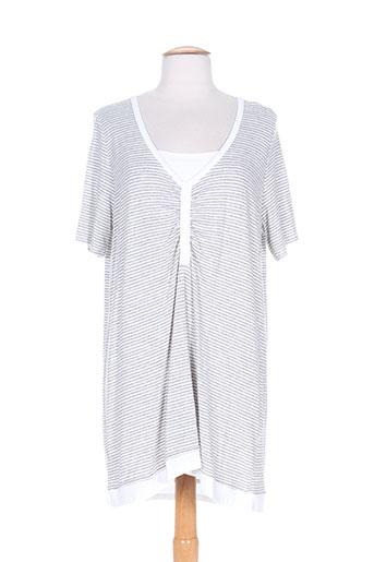 capuccina tuniques femme de couleur gris