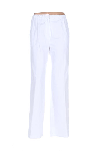 saint charles pantalons femme de couleur blanc