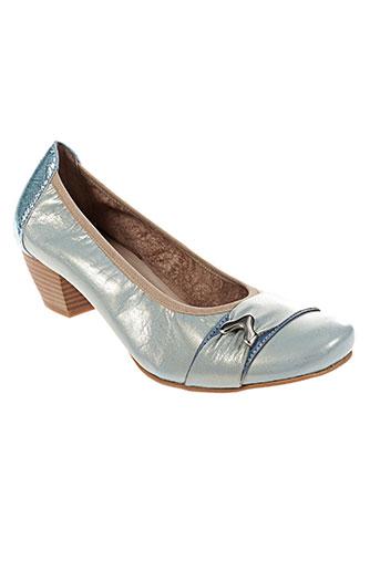 santafe chaussures femme de couleur bleu