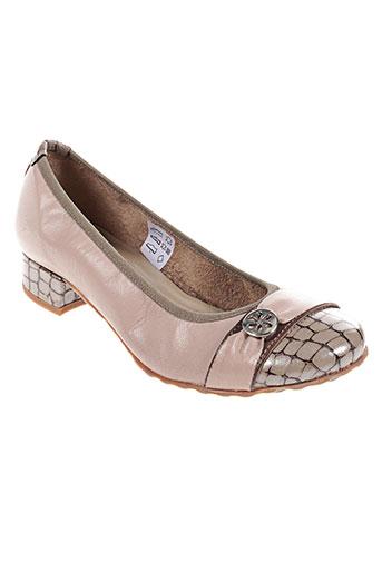 santafe chaussures femme de couleur beige