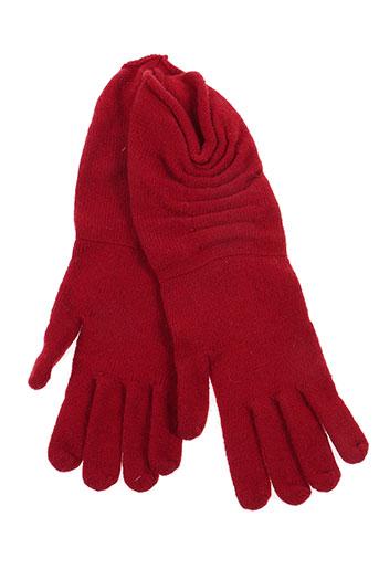 guido lombardi accessoires femme de couleur rouge