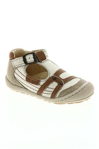 mod8 chaussures garçon de couleur beige