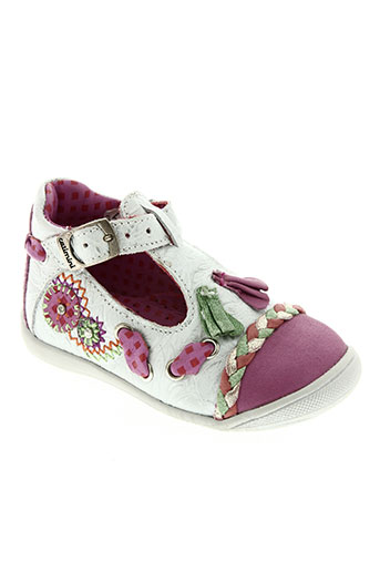 catimini chaussures fille de couleur gris