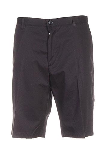 hugo boss shorts / bermudas homme de couleur noir