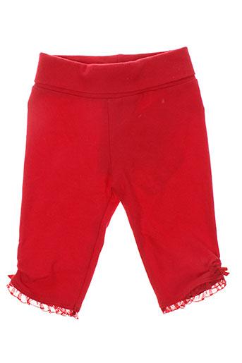 mayoral pantalons fille de couleur rouge