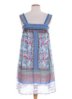 Robe mi-longue bleu CLASSIC GENERATION pour femme
